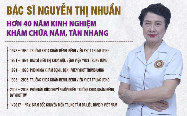 Thầy thuốc ưu tú, bác sĩ Nguyễn Thị Nhuần - Chuyên gia với hơn 40 năm kinh nghiệm chữa nám, tàn nhang bằng YHCT