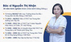 Bác sĩ Nguyễn Thị Nhặn – Bác sĩ da liễu Trung tâm Da liễu Đông y Việt Nam